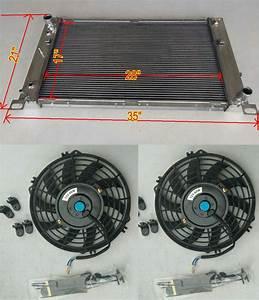 28 U0026quot  Core Aluminum Radiator For Chevy Gmc Chevrolet Silverado 1500 2500 Suburban  Tahoe  Yukon