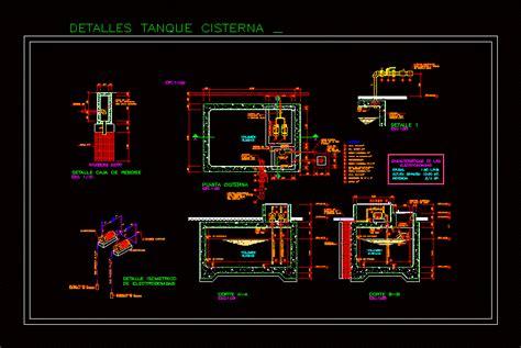 tank cistern dwg block  autocad designs cad