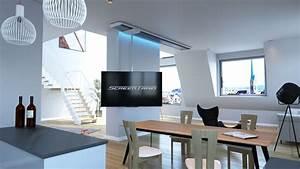 Tv Deckenhalterung Schwenkbar : verschiebbare tv deckenhalterung screentrain verschiebbare tv deckenhalterung ~ Orissabook.com Haus und Dekorationen