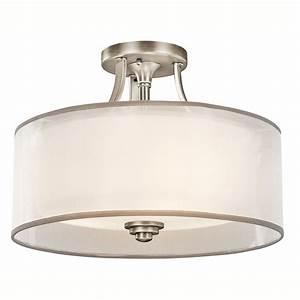 Kichler 42386AP Lacey Semi-Flush Ceiling Fixture