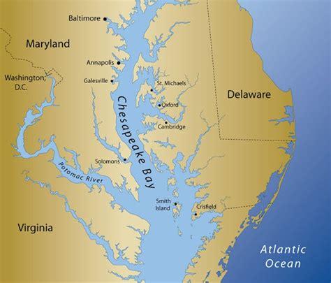 chesapeake bay map chesapeake pinterest bays