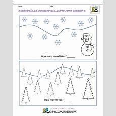 Christmas Maths Worksheets