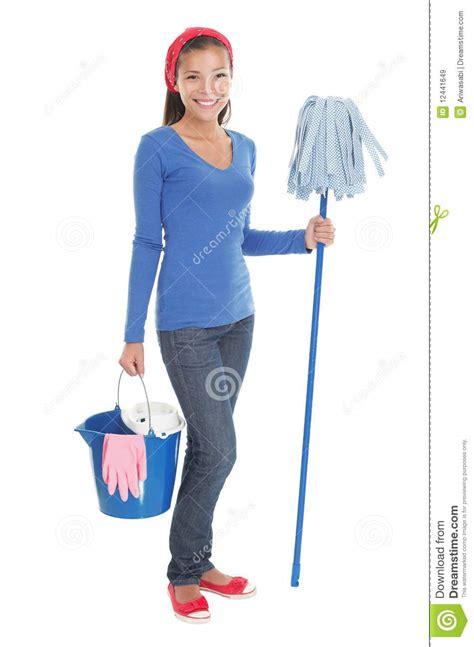 nettoyage de chambre femme de nettoyage de chambre images libres de droits