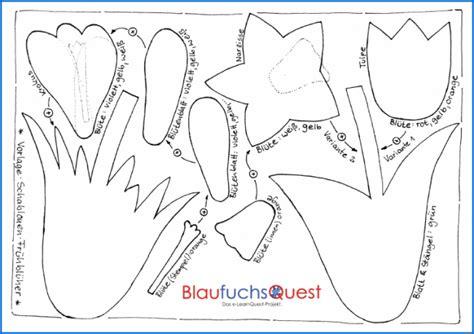 vorlagen blumen basteln bunte boten im fr 252 hjahr die tulpe schneegl 246 ckchen fr 252 hbl 252 bastelvorlagen fr 252 hling
