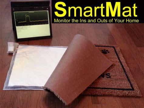 Smart Doormat smartmat the connected door mat