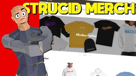 strucid merch   reaction youtube