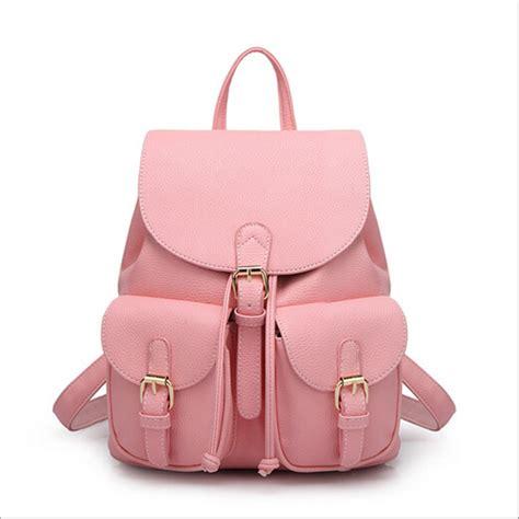drawstring bag 2017 leather backpack black bolsas mochila