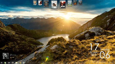 personnaliser bureau windows 7 customiser bureau thème widgets fond d