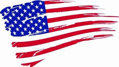Flag American Clip Clipart Transparent Banner Labor