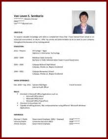 college student resume format professional resume for college student sle resume 2017 professional resume for college