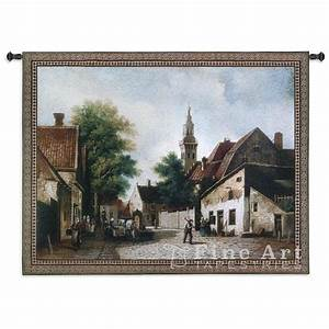 Cobblestone Way Tapestry Wall Hanging