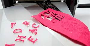 how to use a die cutting machine With fabric letter cutter