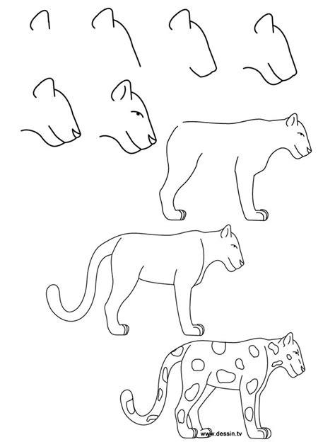 draw simple learn   draw  jaguar