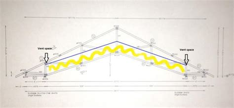 insulating a cathedral ceiling advice advice on insulating a scissor truss ceiling