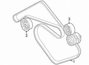 Jaguar Xjr Accessory Drive Belt Tensioner Assembly