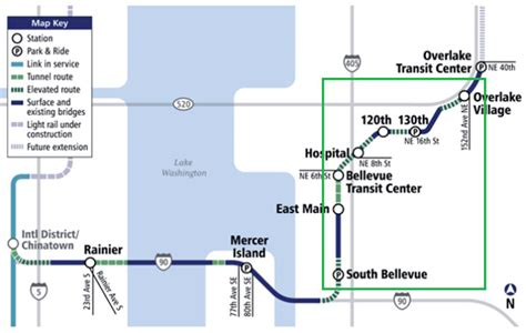 Light Rail Bellevue by Bellevue Beat Computerized Animation Of The Future East