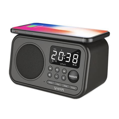 Vieta Pro Wake VH-AQ100BK Despertador Negro Bluetooth con ...