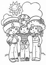 Coloring Friends Pages Strawberry Shortcake Preschoolers Helping Always Friendship Frends Getdrawings Annoying Orange Place Fun sketch template