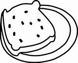 Jam Coloring Pages Clipart Bread Clip Homemade sketch template