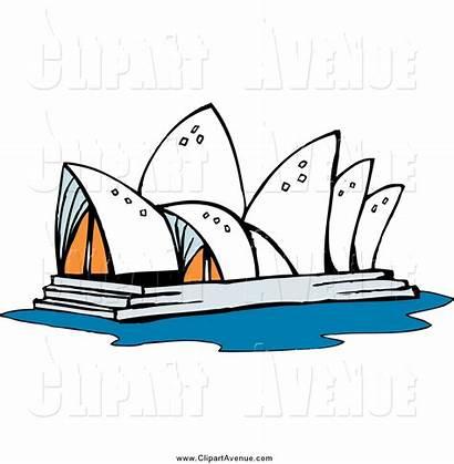 Opera Sydney Clipart Australia Clip Australian Avenue