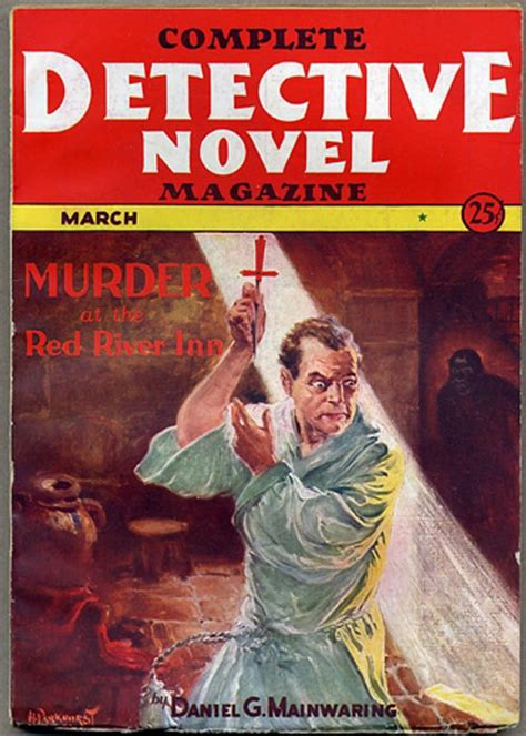 complete detective  magazine march  number