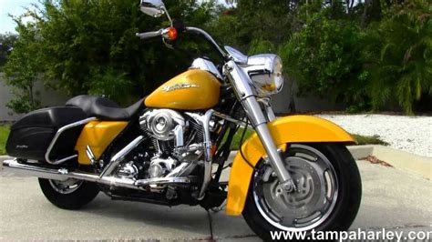 Used 2007 Harley Davidson Flhrs Road King Custom For Sale