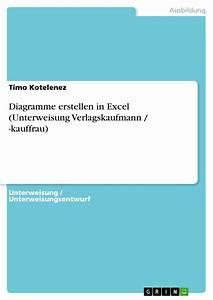 Diagramme Erstellen In Excel  Unterweisung Verlagskaufmann