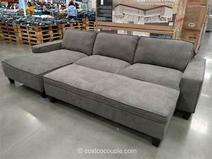 Sectional sofa with chaise costco fabric sofas sectionals for Whitten 2 piece sectional sofa