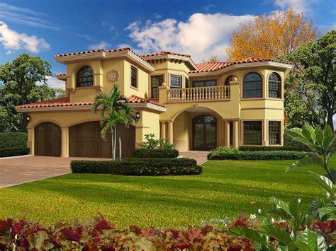 Mediterranean Luxury 32200AA Architectural Designs