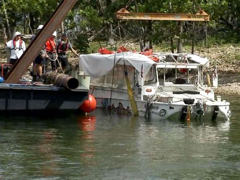 Duck Boat Captain Charged by Captain Of Duck Boat That Killed 17 In July