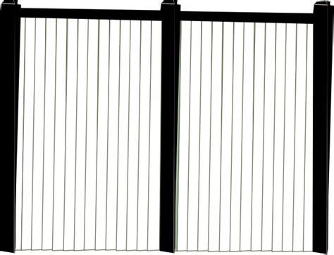 Black And White Fence Front Clip Art At Clker.com