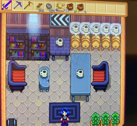 Unzip contents of this zip file to the stardew valley/mods folder. My cafe with a slight twin peaks vibe. Needs more cherry pie. : StardewValley