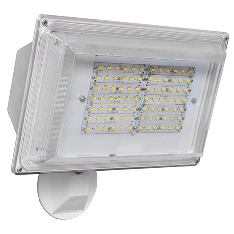 led security flood light led sl42wh amax lighting led sl42wh led security flood