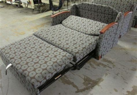 used hill rom p375 sleeper chair cabinetry furnishings