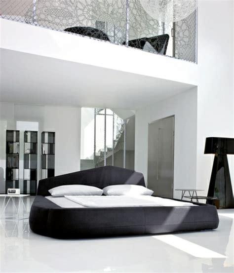 chambre moderne noir et blanc 31 idées d aménagement chambre à coucher moderne