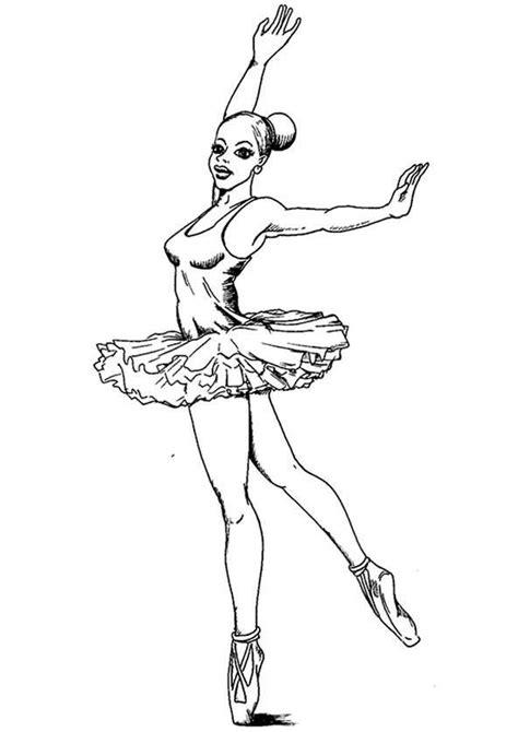 ballerina  ausmalbilder kostenlos
