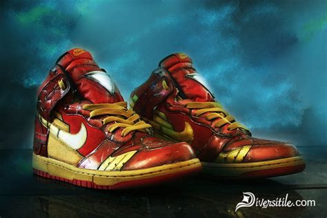iron man  war machine nike shoes