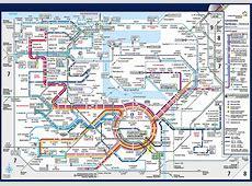 Liniennetzplan für die Buslinien in Rostock rebus