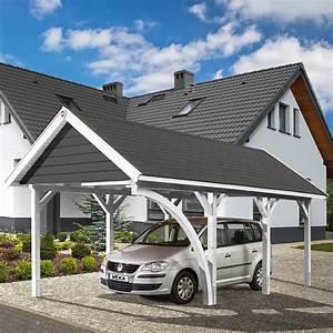 Weka Y Carport : weka carport satteldach 6 39 x 3 6 m einfahrtsh he 2 17 m schneelast 2 kn m bauhaus ~ Sanjose-hotels-ca.com Haus und Dekorationen