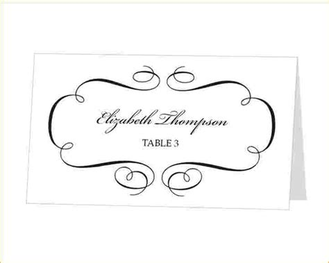 Amscan Templates Place Cards