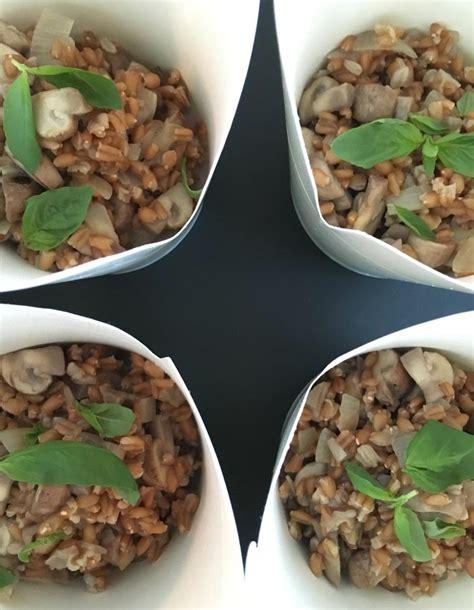 recette de cuisine bio risotto d épeautre et chignons pour 1 personne