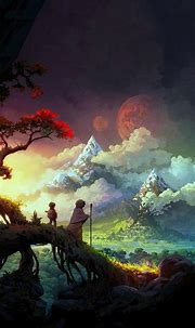 1080x1920 Fantasy Art Colorful Iphone 7,6s,6 Plus, Pixel ...