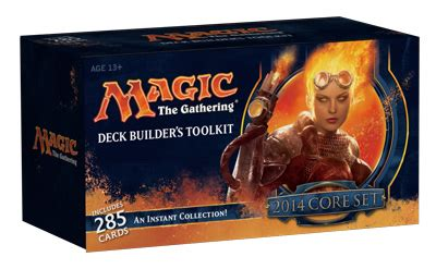 Magic 2014 Booster Packs And Fat Pack