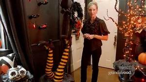How To Decorate An Entryway For Halloween Grandin Road