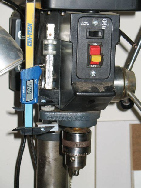 accurized craftsman drill press all