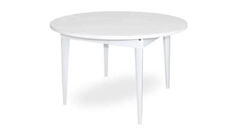 plateau canapé table à manger laquée à rallonge 120 160 cm kopervik