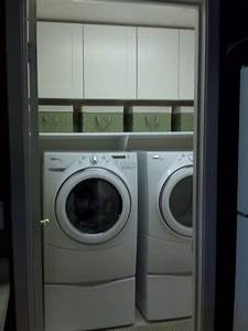 78 images about bathroom ideas on pinterest washer and for Bathroom ideas with washer and dryer