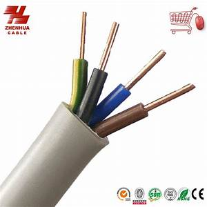 China Bvv Pvc Insulated Sheathed Round Flexible Copper