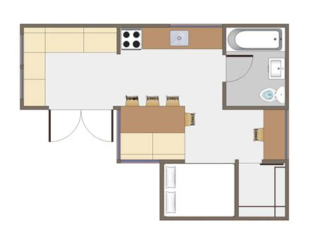 small home floor plan usonian inspired home by joseph tiny house design