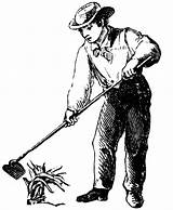 Clipart Hoeing Boy Hoe Farming Agriculture Drawing Etc Clip Usf Edu Person Cliparts Clipground Outline Pinu Zdroj sketch template